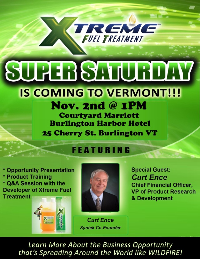 Vermont Super Sat Nov2
